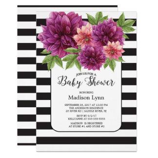 De moderne Uitnodiging van het Baby shower van