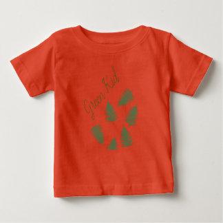 De modieuze Groene Bovenkant van de T-shirt van