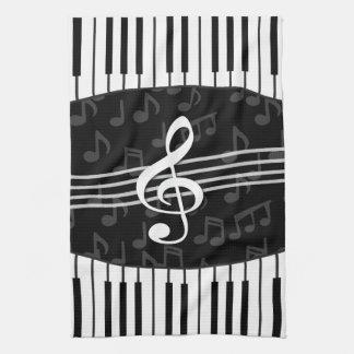 De modieuze Muziek neemt nota van de Sleutels van Theedoek