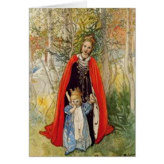 De Moeder en de Dochter van de Lente van de Kaart