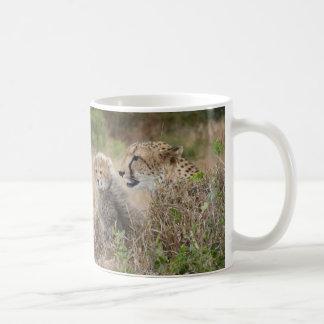 De Moeder en de Welp van de jachtluipaard Koffiemok