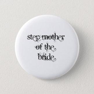 De Moeder van de stap van de Bruid Ronde Button 5,7 Cm