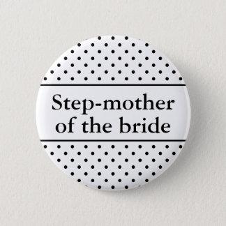 De moeder van de stap van de bruidknoop voor ronde button 5,7 cm