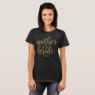 De moeder van het Goud van de Bruid schittert T Shirt