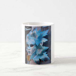 De mok die van Classig een zilveren-blauw