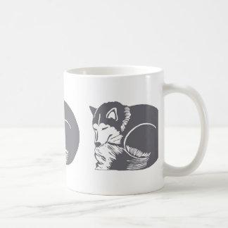 De Mok Drinkware van Huskies van de slaap