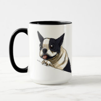 De mok van Boston Terrier