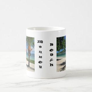 De Mok van Coffe van het Strand van de aap