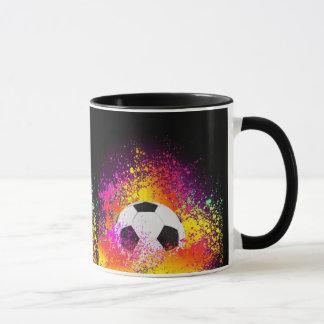De Mok van de Bal van het Voetbal van het neon