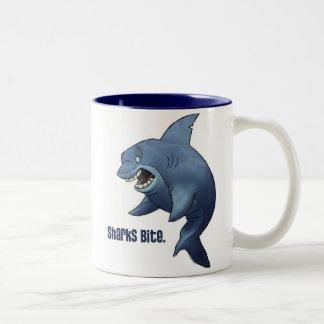 De Mok van de Beet van haaien