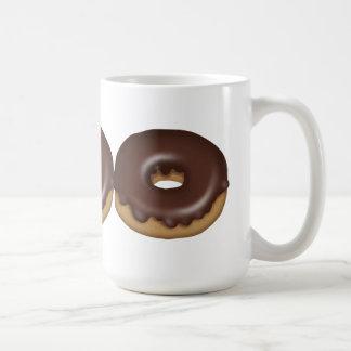 De mok van de Doughnut van de chocolade