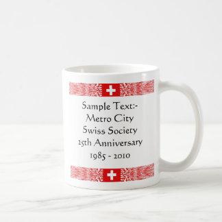 De Mok van de Kaart ~ Flagcolor van Zwitserland