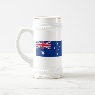 De Mok van de Kaart van de Vlag ~ van Australië