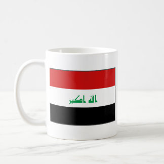 De Mok van de Kaart van de Vlag ~ van Irak