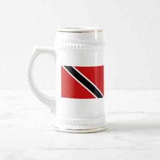 De Mok van de Kaart van de Vlag ~ van Trinidad en
