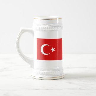 De Mok van de Kaart van de Vlag ~ van Turkije
