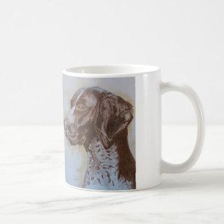 De Mok van de koffie/Duitse Wijzer Shorthair