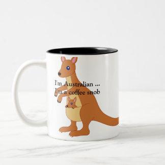 De Mok van de koffie - ik ben Australisch. Ik ben