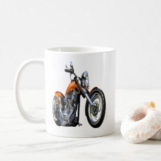 De Mok van de koffie - Motorfiets