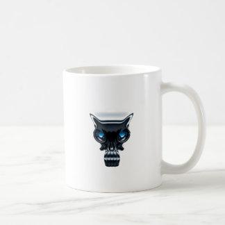 De Mok van de koffie - Schedel
