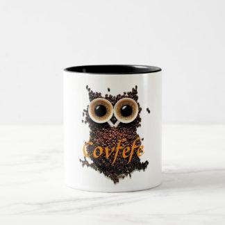De Mok van de Koffie van Covfefe