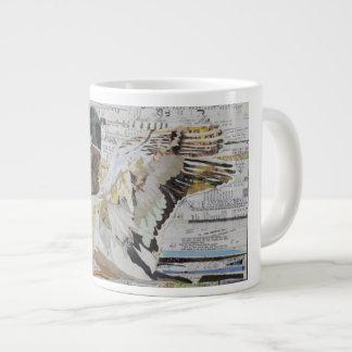 De Mok van de Koffie van de Collage van de Eend