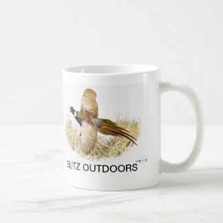 """De Mok van de Koffie van de """"fazant tijdens de"""