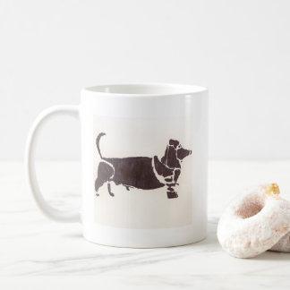 De Mok van de Koffie van de Hond van Weiner