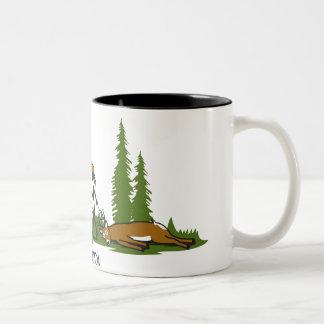 De Mok van de Koffie van de Jacht van de Familie
