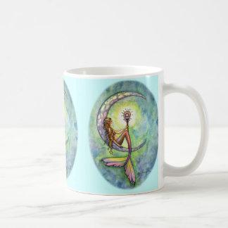 De Mok van de Koffie van de Maan van de meermin