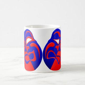 De Mok van de Koffie van de Maskers van het drama
