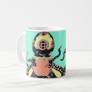 De Mok van de Koffie van de octopus