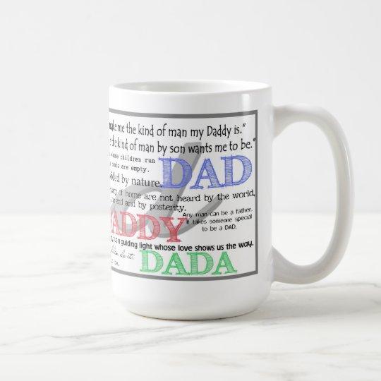 Citaten Over Koffie : De mok van koffie papa met citaten zazzle