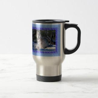 De Mok van de Koffie van de Reis van de wolf