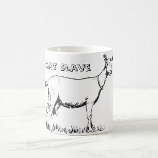 De Mok van de Koffie van de Slaaf van de geit