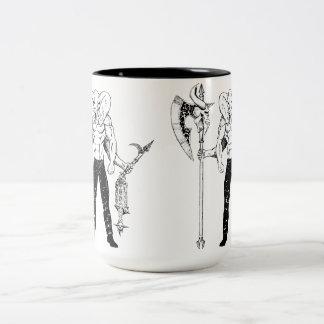 De Mok van de Koffie van de Strijder van Ganesh