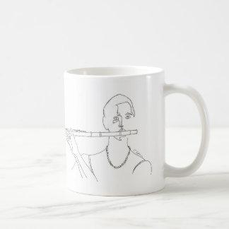 De Mok van de Koffie van de Tekening van de Lijn