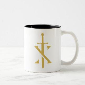 De Mok van de Koffie van de Voorvechter van