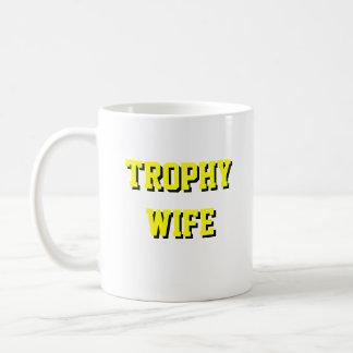 De Mok van de Koffie van de Vrouw van de trofee