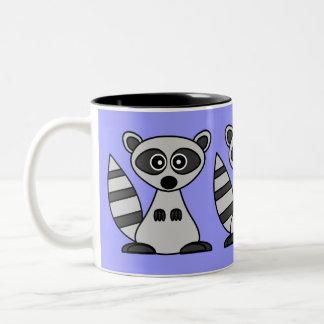 De Mok van de Koffie van de Wasbeer van de cartoon