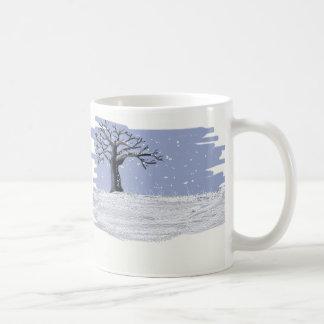 De Mok van de Koffie van de winter