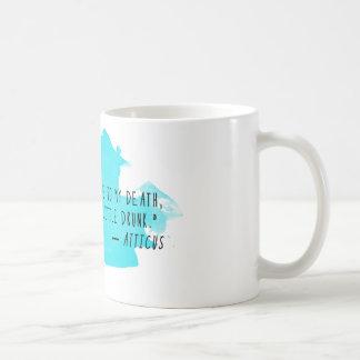 De Mok van de Koffie van het Citaat van Atticus: