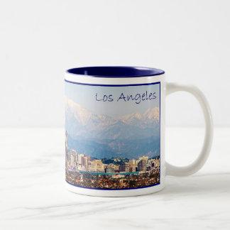 De Mok van de Koffie van het Panorama van Los