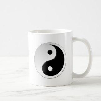 De Mok van de Koffie van het Symbool van Yang van