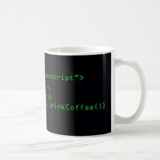 De Mok van de Koffie van JavaScript