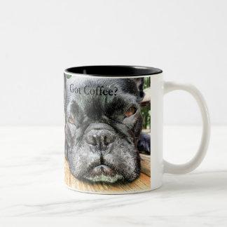 De Mok van de Koffie van koningin FiFi Got
