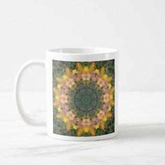 De Mok van de Koffie van Mandala van de Lelie van