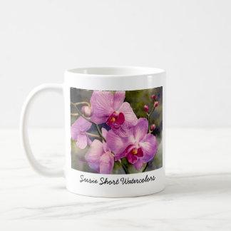 De Mok van de Koffie van orchideeën