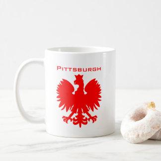 De Mok van de Koffie van Pittsburgh Polska