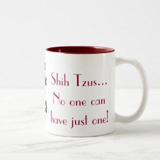 De Mok van de Koffie van Tzu van Shih